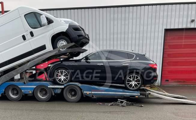 Solutions de rapatriement en toute sécurité COURTAGE AUTO : groupage ou remorquage par camion porte-voiture.